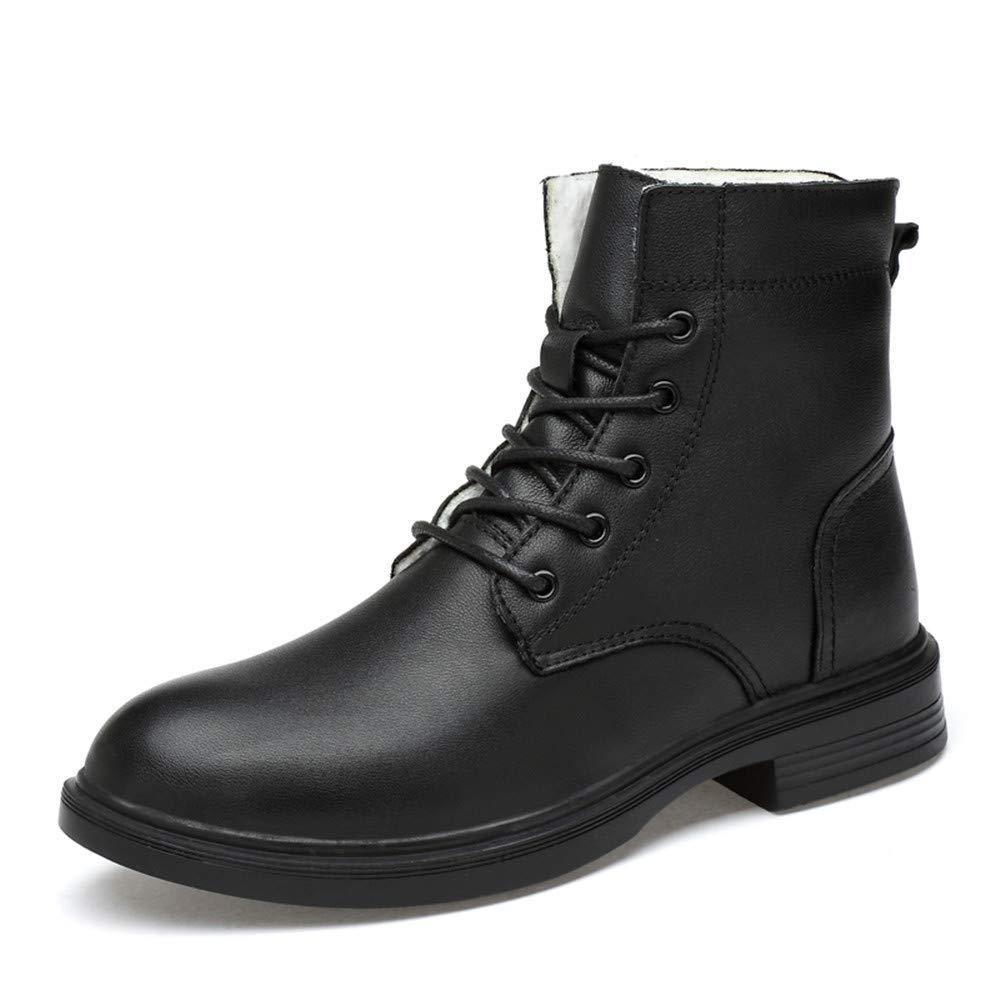 CHENJUAN Schuhe Modische Stiefeletten für Herren Lässig Bequeme und weiche hohe Außensohle Stiefel  | Gemäßigten Kosten