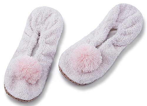 Slippers Indoor Bedroom Pink1 Fuzzy Womens Knit Ladies Slippers House Winter Christmas Animal Cute MaaMgic AZ7C6wxq7