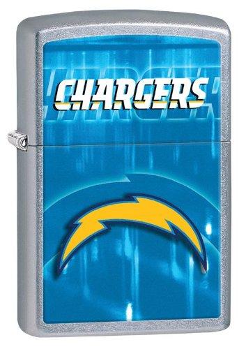 Personalized Zippo Lighter NFL San Diego Chargers - Free Engraving (Zippo Nfl San Diego Chargers)