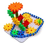 Bo Toys Deluxe Gears Building Set, Learning Blocks , Spinning Gears, 170 pcs