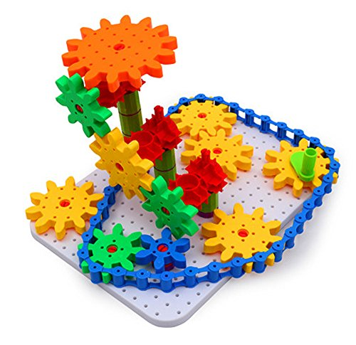 - Bo Toys Deluxe Gears Building Set, Learning Blocks , Spinning Gears, 170 pcs