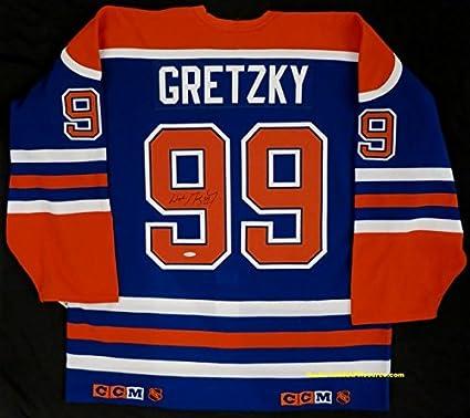 new product 5daa6 75647 Wayne Gretzky Autographed Authentic Edmonton Oilers Jersey ...