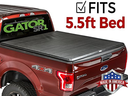 Gator SR1 Premium Roll Up Tonneau Truck Bed Cover 2015-2018 Ford F150  5.5 FT Bed