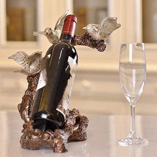CHUNSHENN ワイン収納 シャンパンホルダー 樹脂のワインキャビネット、樹脂製のワインラック、ソフト装飾 置物 実用的 工芸品