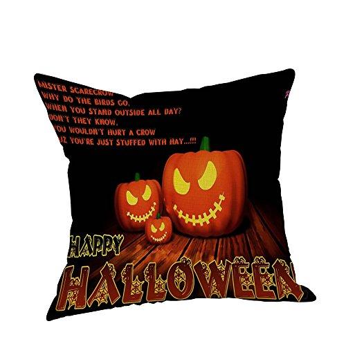 Weiliru Easter Cotton Lien Decor Throw Pillow Cover Kinds of Color Pattern Pillow Case
