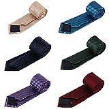 Mens Fashion Business Necktie Tie Mixed Set 6 Pack (set 23)