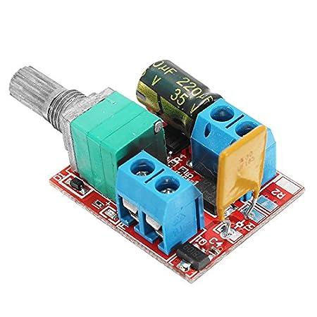 LaDicha 3 Stücke 5 V-30 V Dc Pwm Drehzahlregler Mini Elektrische ...