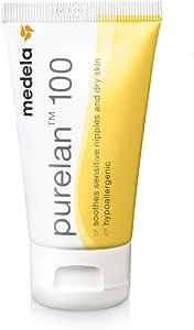 MEDELA Purelan Lanolin Nipple Cream Help Soothe Sore Cracked Nipples Safe to use Whilst Breast Feeding (80006)