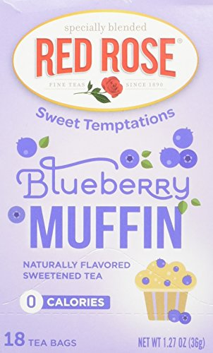 - Red Rose Blueberry Muffin Tea, 18 ct(pack of 2)