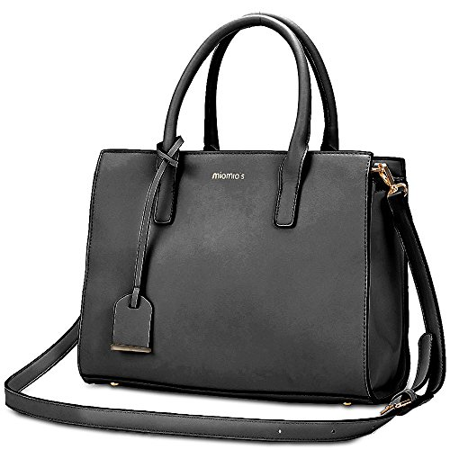 MIOMIO'S Women's Pu Leather Purse Shoulder Bag Large Capacity Work Tote Handbag for Ladies Daily Use Large Faux Leather Handbag Purse