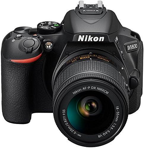 51FofOgKBCL. AC  - Nikon D5600 Digital SLR Camera & 18-55mm VR DX AF-P Lens - (Renewed)