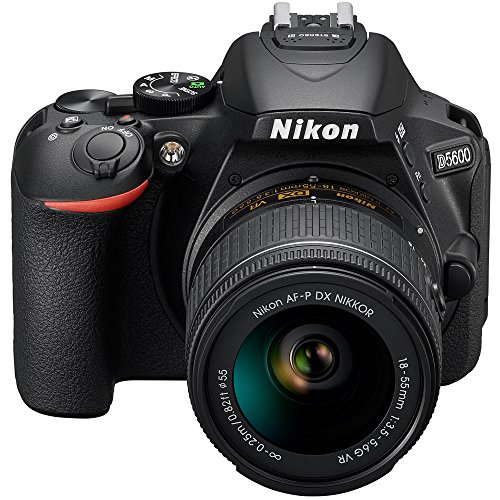 Nikon D5600 24.2 MP DSLR Camera + AF-P DX 18-55mm & 70-300mm NIKKOR...