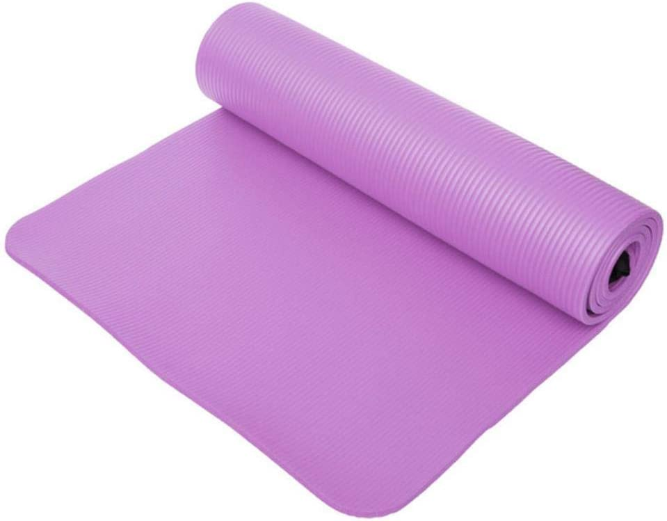 Azul China IONE 183 1 cm Esterilla de Yoga Gruesa Antideslizante Plegable Fitness Deportivo Suave Pilates Mat Fitness Equipamiento Deportivo 61