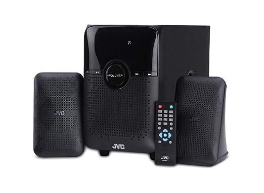 JVC XS XN21 2.1 Channel Bluetooth Home Audio Speaker  Black