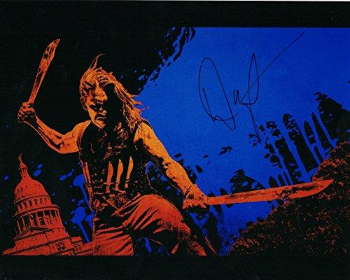 "Danny Trejo autographed ""Metallic Finish"" 8x10 photograph Machete Kills"