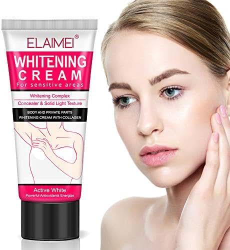 Whitening Cream,Underarm Lightening Cream for Body, Armpit, Knees, Elbows, Private Parts, Skin Lightening & Nourishing, Natural Skin Care, 60ml