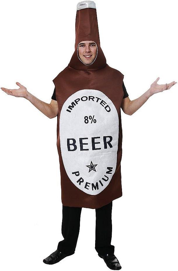 Beer - Disfraz de cerveza adultos (5026619361610): Amazon.es ...