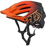 Cheap 2018 Troy Lee Designs A2 MIPS Starburst Bicycle Helmet-Honey-M/L