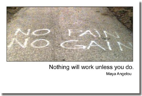 """""""Nothing Will Work Unless You Do"""" Maya Angelou – Classroom Motivational Poster"""