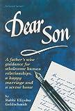 Dear Son, Eliyohu Goldschmidt, 1578194261