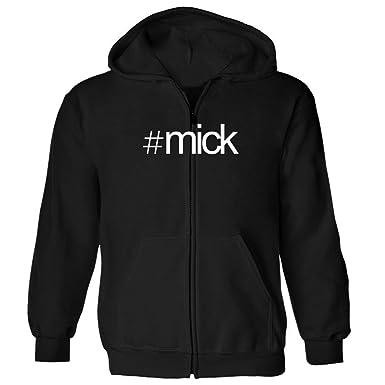 ade632289f Amazon.com: Idakoos Hashtag Mick - Male Names - Zip Hoodie: Clothing