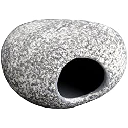 Fish Tank Cichlid Stones - TOOGOO(R)3 Pcs Aquarium Fish Breeding Cave Decoration Stone