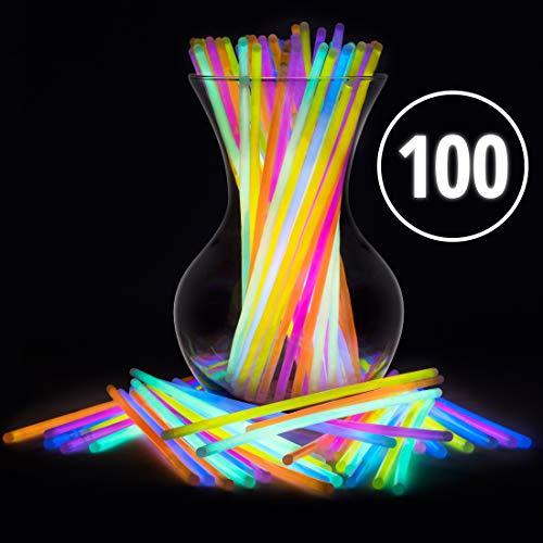 Glow Sticks Bulk Party Favors 100pk - 8