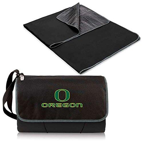 (NCAA Oregon Ducks Outdoor Picnic Blanket Tote, Black)