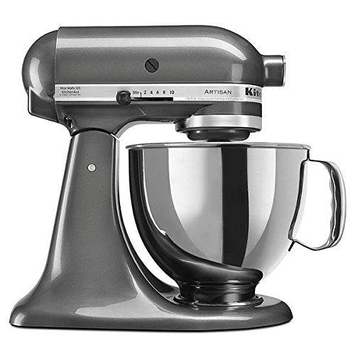 (KitchenAid Artisan Series Stand Mixer with Pouring Shield, 5-Qt., Liquid Graphite)