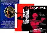 {{3 DVD Set}} CALIGULA Completely Unedited and Unrated Twentieth Anniversary Edition (Digitally Remastered & Fully Restored) / Criterion's NIGHT PORTER (Nazi Depravity) / BAISE MOI (Banned for years)
