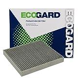 ECOGARD XC25869C filtro de aire de cabina con eliminador de olores de carbono activado. Repuesto premium para Jeep Patriot/Dodge Journey, Avenger/Jeep Compass/Chrysler 200/Dodge Caliber
