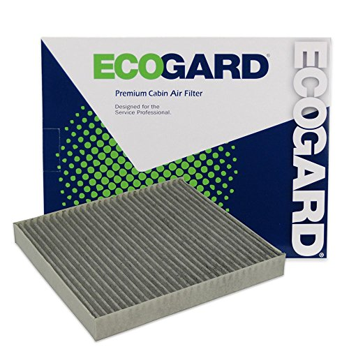ECOGARD XC25869C Cabin Air Filter with Activated Carbon Odor Eliminator - Premium Replacement Fits Jeep Patriot / Dodge Journey, Avenger / Jeep Compass / Chrysler 200 / Dodge Caliber