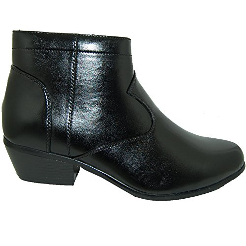 RETRO STYLE 2 Inch Cuban Heel Men Boots (11D US)
