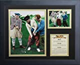 Legends Never Die The Three Stooges Golf Color Framed Photo Collage, 11x14-Inch