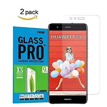 Tanque [2 unidades] Cristal – Protector de pantalla para Huawei ...