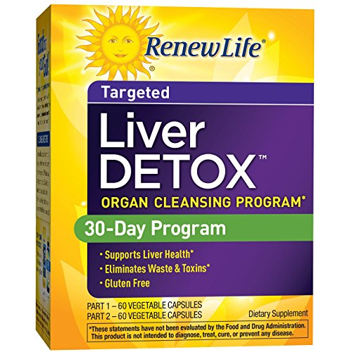 Renew Life Liver Detox - liver detox and cleanse supplement - 30 day - 120 vegetable capsules by Renew Life (Image #5)