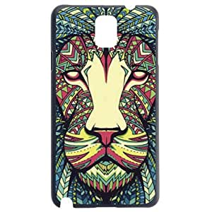 Fashion Personality Vintage Pattern Aztec Animal Lion Hard Back Plastic Case Cover Skin Protector For Samsung Galaxy S5 i9600 by Alexism