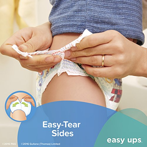 Large Product Image of Pampers Easy Ups Training Pants Pull On Disposable Diapers for Boys Size 5 (3T-4T), 148 Count, ONE MONTH SUPPLY