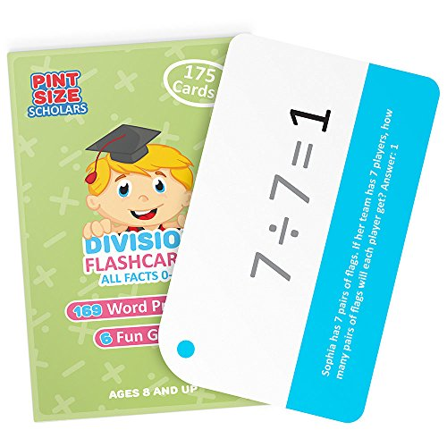 division fact card games - 4