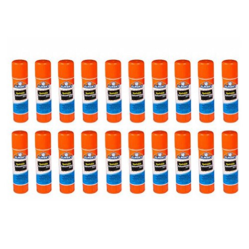 Elmers Washable All-Purpose School Glue Sticks, .24 Ounc Each, 20-Pack