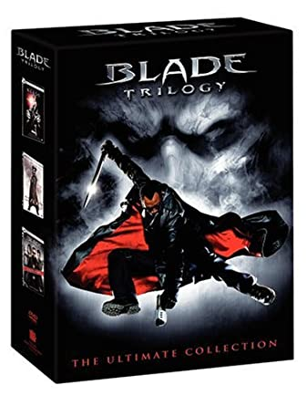 amazon com the blade trilogy blade blade ii blade trinity