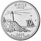 2003-D Maine BU State Quarter