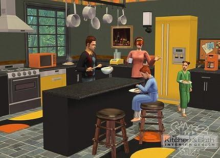 Amazon.com: The Sims 2: Kitchen & Bath Interior Design Stuff - PC ...
