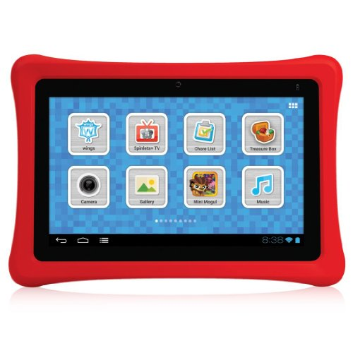 NABI NBTY07SMKG Kids Tablet Black product image