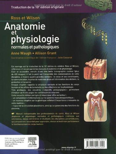 Ross et Wilson, Anatomie et physiologie normales et pathologiques ...