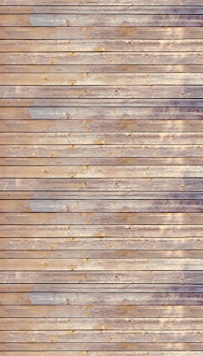 "Ella Bella Photography Backdrop Paper, Vintage Wood, 48"" x 12"