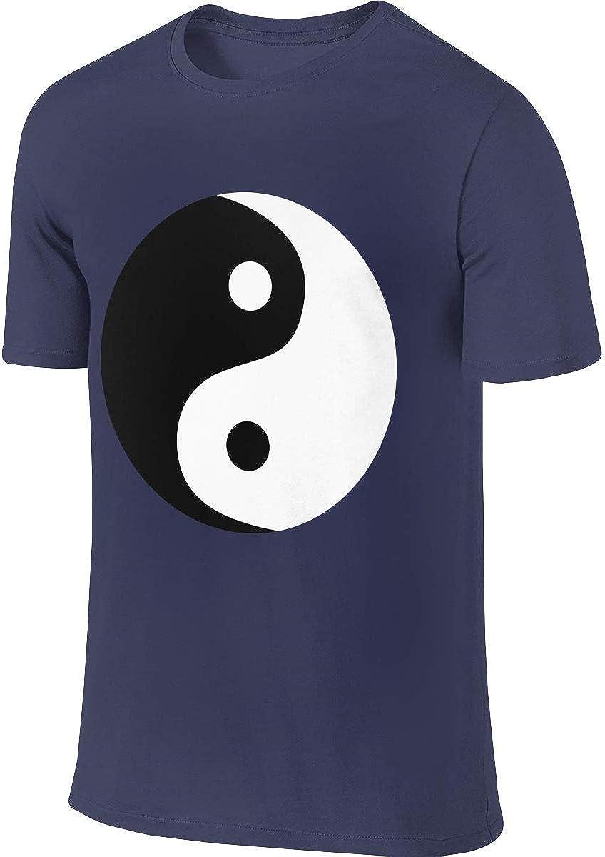 Camiseta Deportiva de Manga Corta para Hombre, de algodón, diseño Chino, Tai Chi, para Correr Azul Azul Marino XXL: Amazon.es: Ropa y accesorios