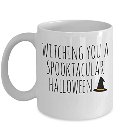 Amazon com: Witching you a Spooktacular Halloween Witch Wizard