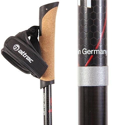 Carbone, dragonne pratique, poignée en liège et qualité allemande, que demandez de plus?
