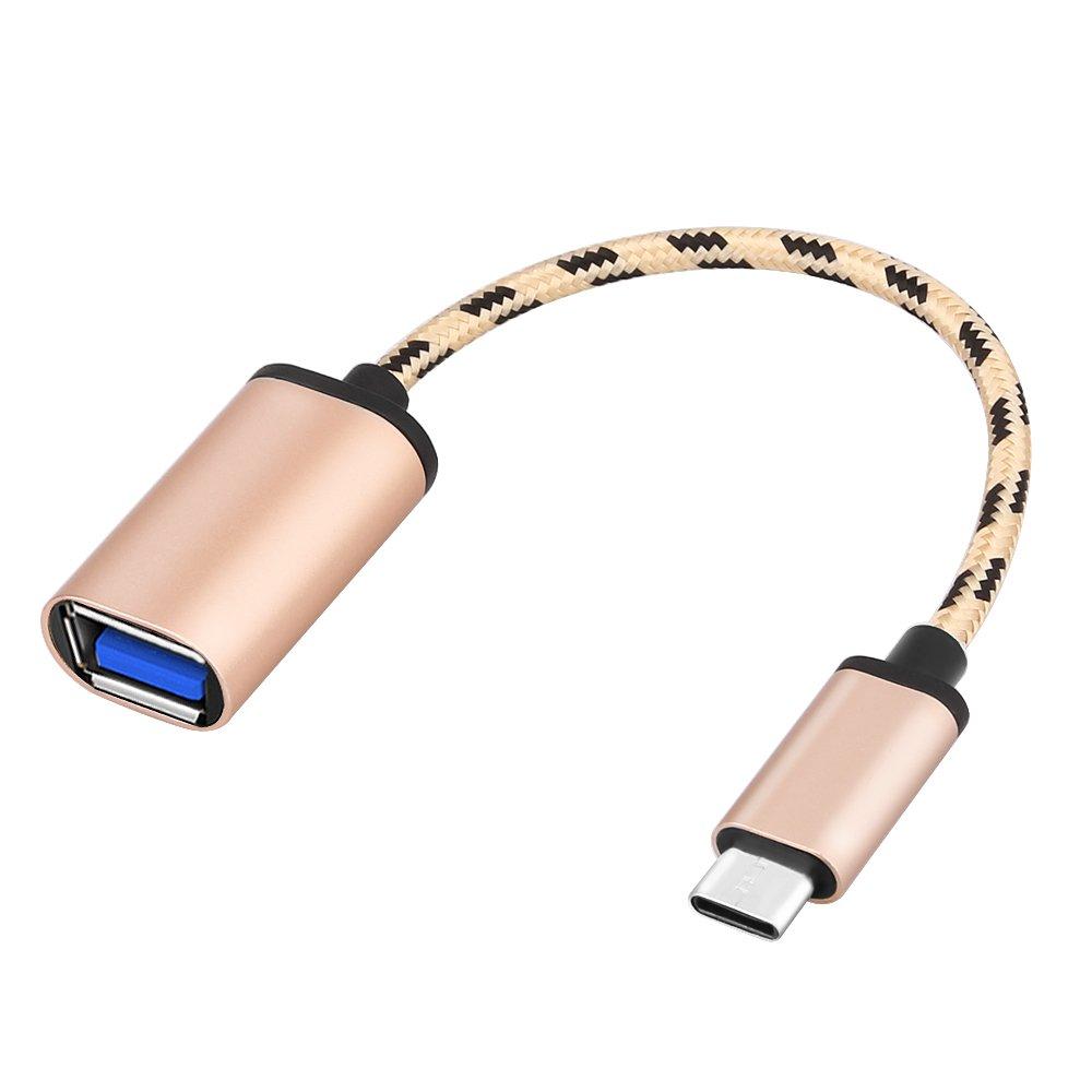 TTAototech Lega di Alluminio Type C a USB3.0 connettore dell'adattatore, la Trasmissione di OTG/Ricarica/Dati